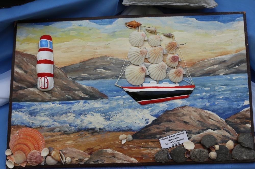 День военно-морского флота поделки